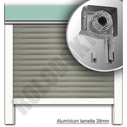 Redőny alumínium vakolható