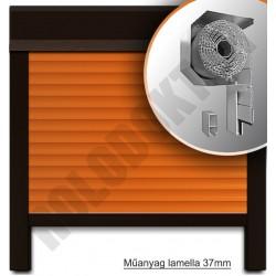 Redőny műanyag redextra, 53x22mm-es lefutóval