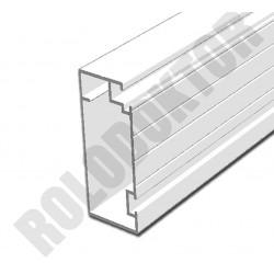 Szárnyprofil, alumínium extrudált 45 x 20mm,  SZÖGLETES pántos szúnyogháló ajtóhoz